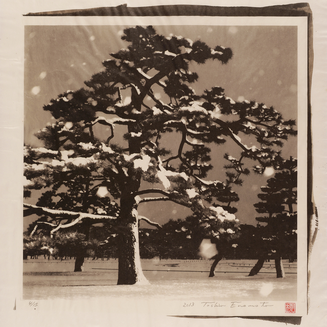, 'Imperial Palace Plaza under the Snow 2, Tokyo,' 2013, Micheko Galerie