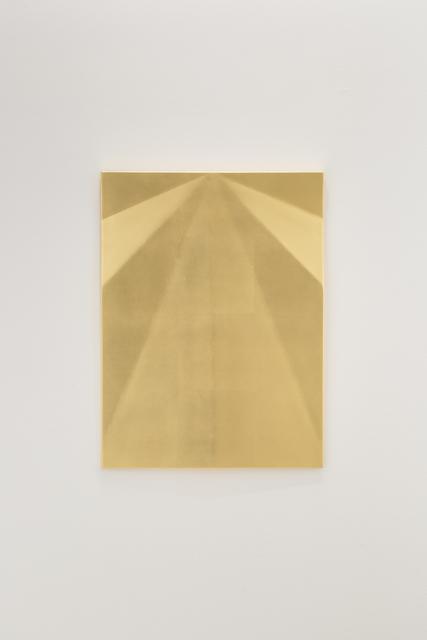 , 'Unfolded Gold (Aludra),' 2018, Travesia Cuatro