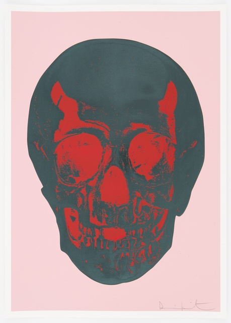 , 'Candy Floss Pink Racing Green Pigment Red Pop Skull ,' 2012, Paul Stolper Gallery