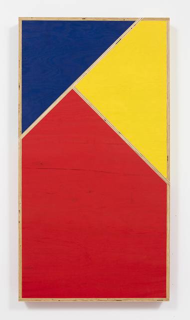 , 'Transitional Geometry in Red, Yellow and Blue (Figure 34),' 2016, Steve Turner