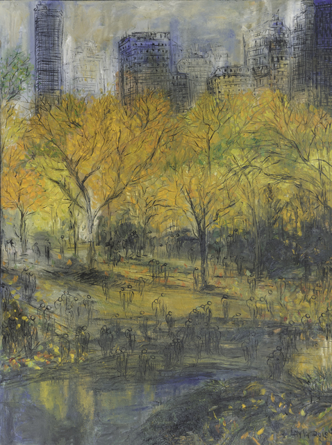 , 'Fall in Central Park Opus 18,' , Walter Wickiser Gallery