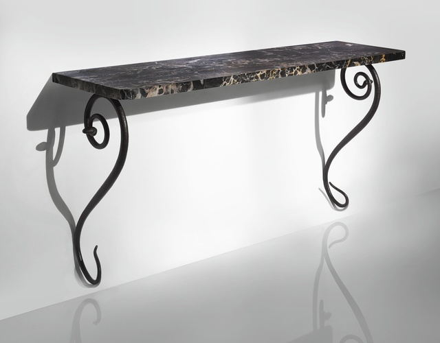 Paul Poiret, 'Console Table', circa 1919, Design/Decorative Art, Marble and patinated wrought iron, Sotheby's