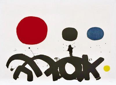 Adolph Gottlieb | Arabesque (1967) | Artsy