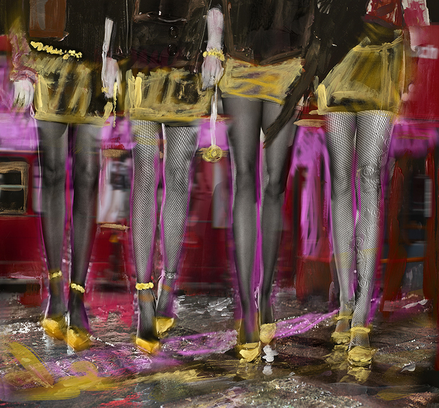 ", '""Party Time"",' 2019, Julie Zener Gallery"
