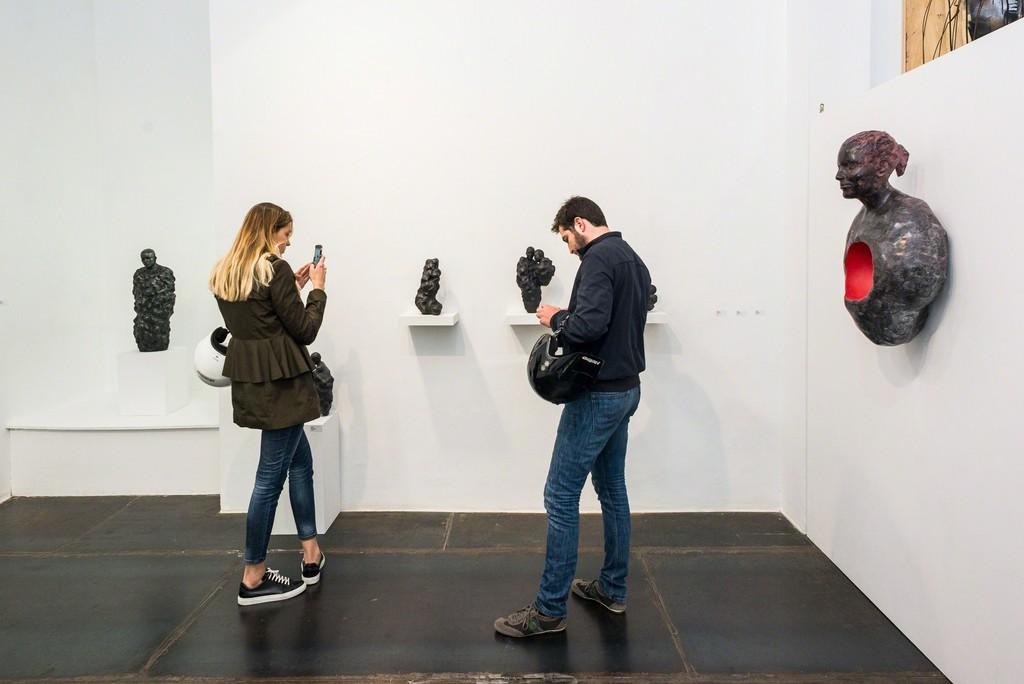 Cosmos - Gil Gelpi in Artevistas Art Gallery in Barcelona