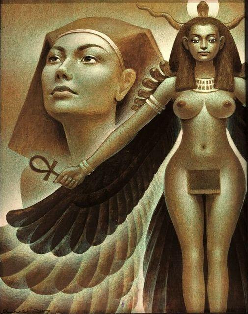 , 'Sheba Raven Cloack, Hatshepsut,' 2018, Gallery Victor Armendariz
