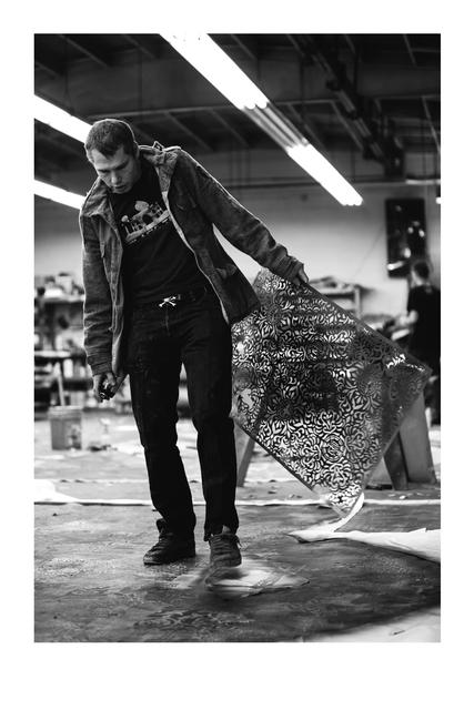 , 'Shep Stencil,' 2015, Subliminal Projects
