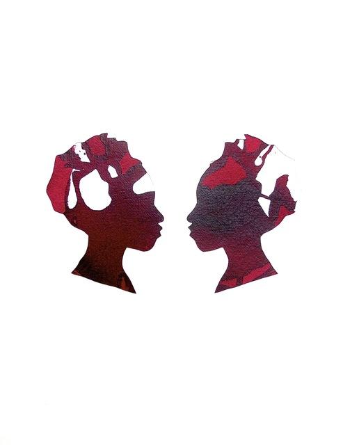 , 'Mirror Image Alizarin Crimson,' 2012-2013, Tiwani Contemporary