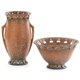 Two tan Ferella vessels