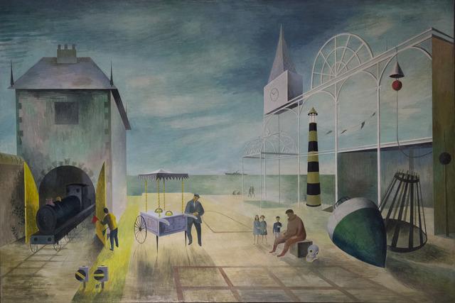 , 'The Resort,' 1950, Liss Llewellyn