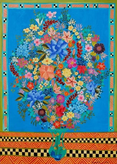 , 'Blue Roses,' 2014, Rebecca Hossack Art Gallery