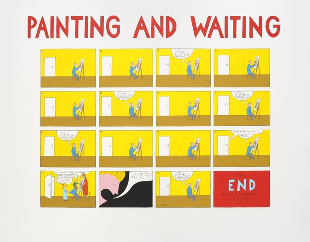 , 'Painting and Waiting,' 2013, Temnikova & Kasela