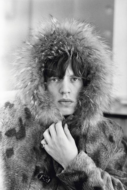 , 'Mick Jagger, Fur Parka,' 1964, Holden Luntz Gallery