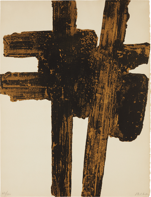 Pierre Soulages, 'Eau-forte XVIII', 1962, Phillips