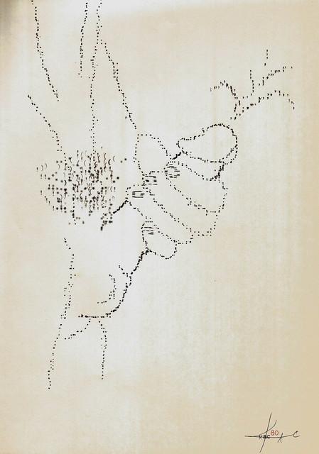 , 'Movimento de esquerda 2,' 1980, Marsiaj Tempo
