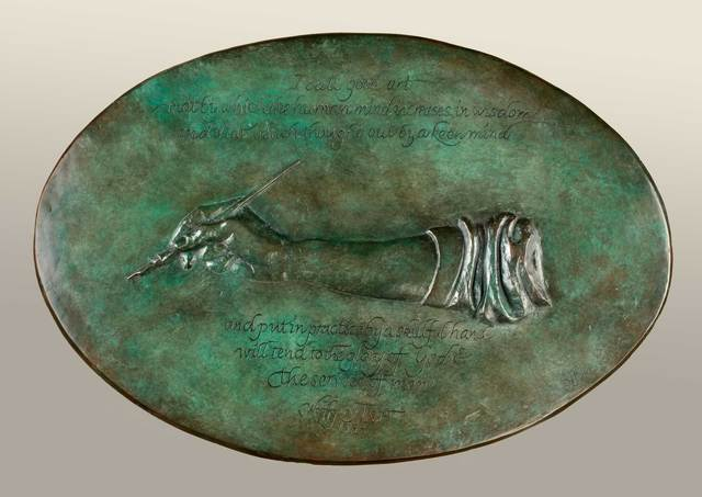 Elliot Offner, 'Tribute to Wolfgang Fugger (bas-relief)', 1998, Vose Galleries