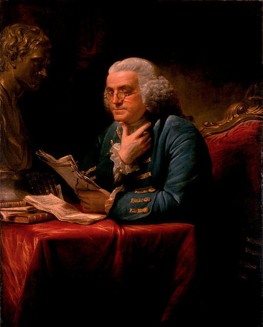 , 'Benjamin Franklin,' 1767, White House Historical Association