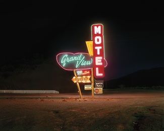 Grand View Motel, Raton, New Mexico, 12/18/80