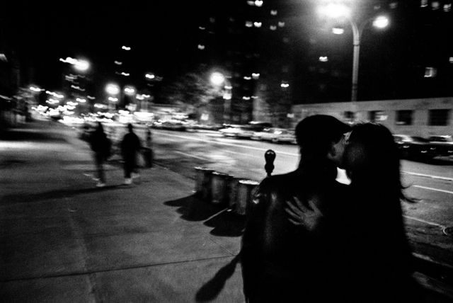 Ken Schles, 'Audrey and Andre Kiss, 14th Street', 1983, Howard Greenberg Gallery