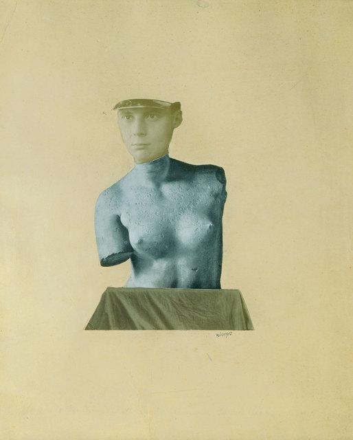 Johannes Theodor Baargeld, 'Typical Vertical Mess as Depiction of Dada Baargeld (Typische Vertikalklitterung als Darstellung des Dada Baargeld)', 1920, The Museum of Modern Art