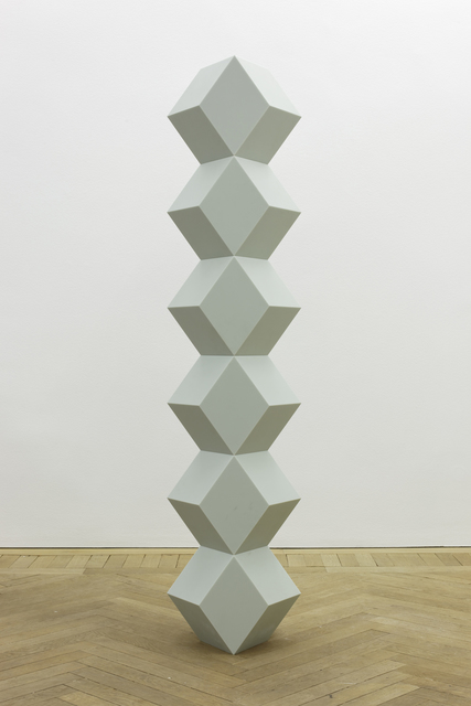 , 'Stack of Six Regular Rhombus Seagrass Corian,' 2014, Simon Lee Gallery