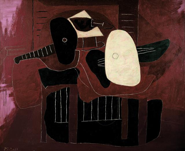 Pablo Picasso, 'Instruments de musique sur une table (Musical Instruments on a Table),' 1926, Fondation Beyeler