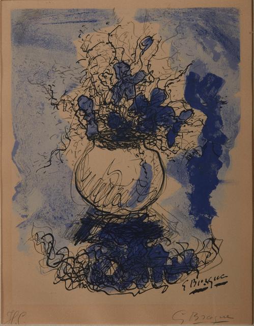 Georges Braque, 'Flowerpot', Print, Lithograph, Pandolfini