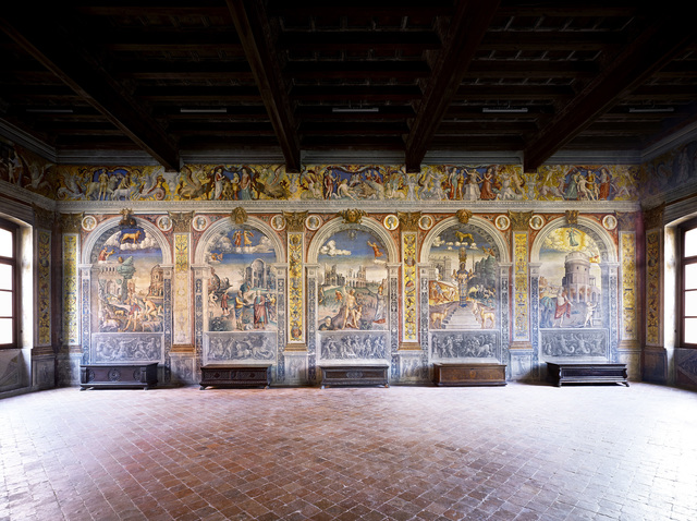 , 'Museo di Palazzo d'Arco Mantova III ,' 2011, Helga de Alvear