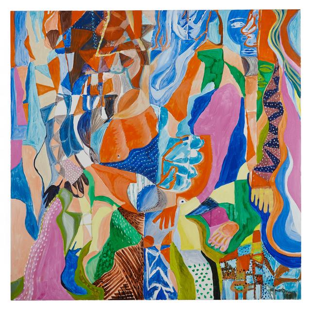 Lisa Warren, 'Kablooey', 2019, Painting, Acrylic on canvas, Standard Space