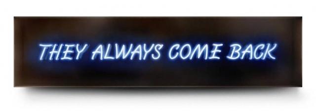 David Drebin, 'They Always Come Back', Art Angels