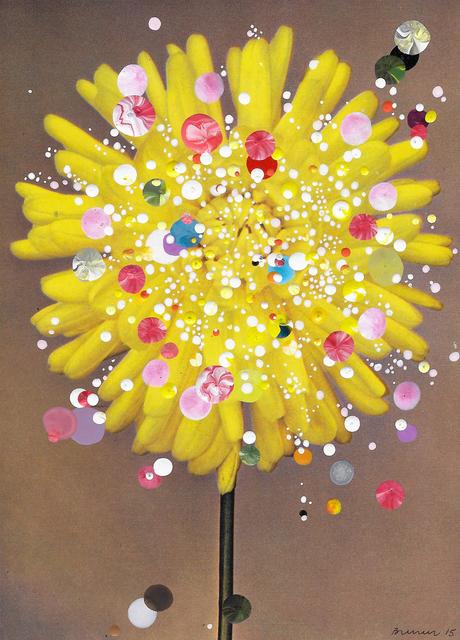 , 'Semi-Cactus Dahlia Gold Flake,' 2015, Galerie Ron Mandos