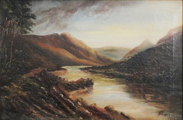 Unknown Artist, 'English landscape', 1913, La Maison de la Petite Sara