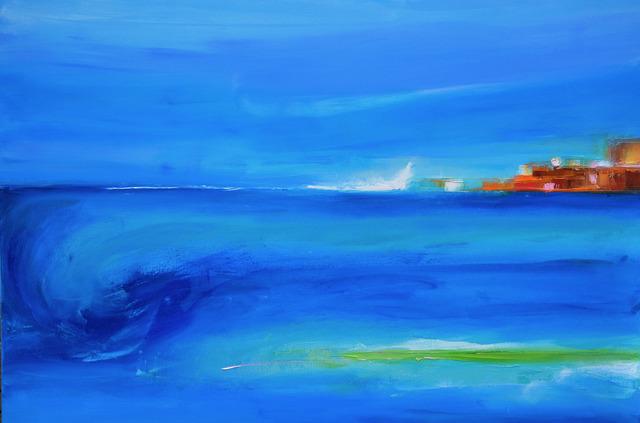 Beatrice Dauge Kaufmann, 'La Mer', 2015-2019, Copley Society of Art