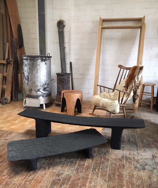 , 'Low Chiseled Bench/ Table,' 2018, Spazio Nobile