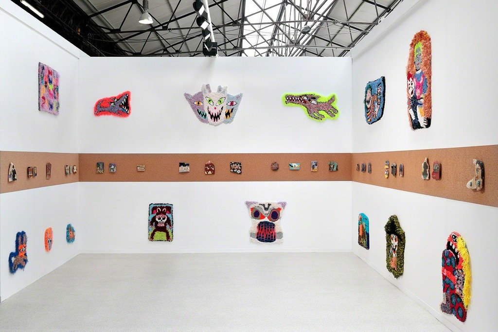 Art Brussels. Hannah Epstein and Kevin McNamee-Tweed, Installation view, Steve Turner, April 2019