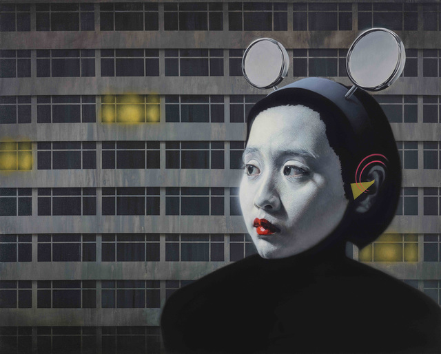 , 'Moonlight in the City,' 2015, Liang Gallery