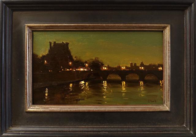 Jesse Powell, 'Paris', 2018, Painting, Oil on linen, ARCADIA CONTEMPORARY