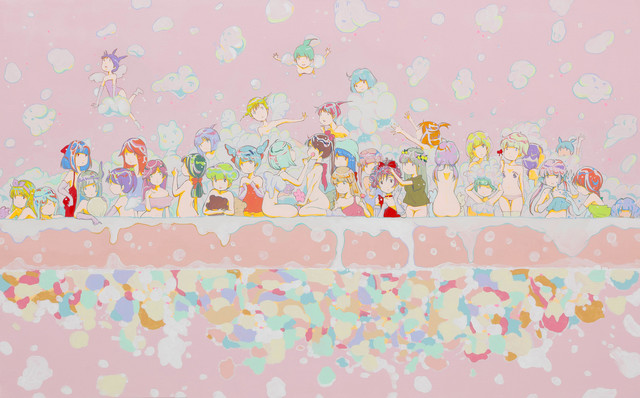 Kato Ai, 'Kusattemo Lolicon–Bubble Bath–', 2016, Mizuma Art Gallery