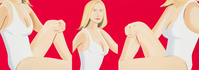 Alex Katz, 'Coca-Cola Girl 9', 2019, William Campbell Contemporary Art, Inc.