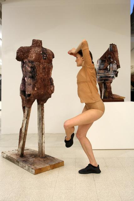 , 'site specific performance for Collezione Maramotti,' 2013, Collezione Maramotti