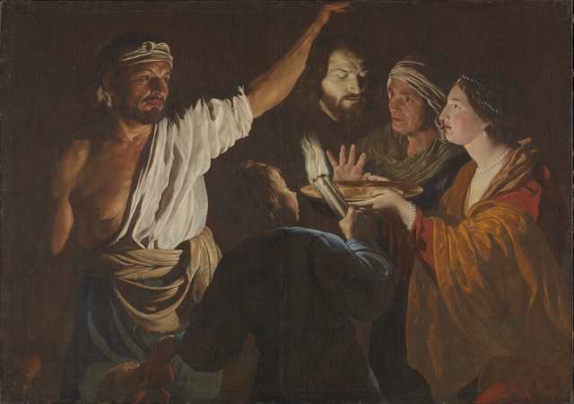 , 'Salome receives the Head of John the Baptist,' 1630-1632, The National Gallery, London