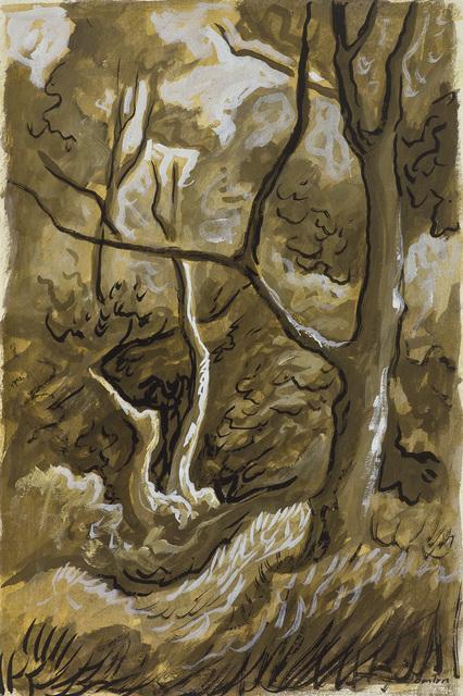 Thomas Hart Benton, 'Woods Scene', Kiechel Fine Art