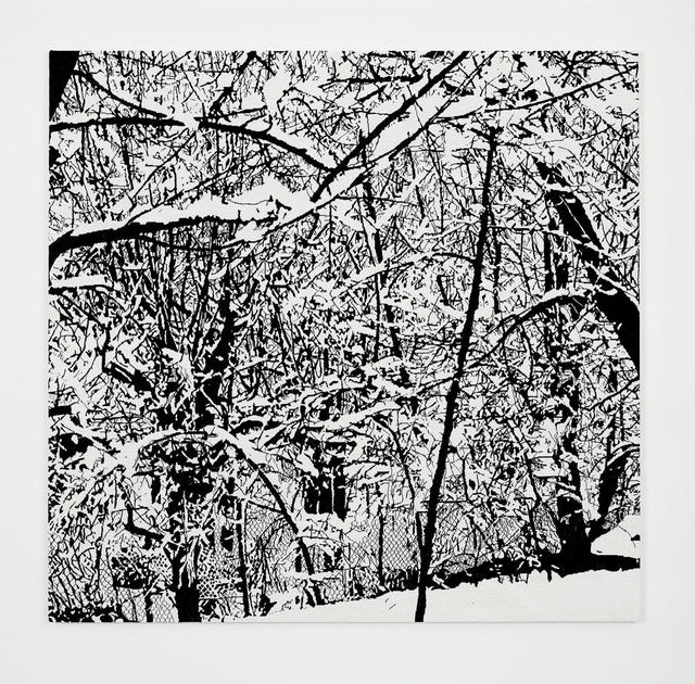 , 'SNOW FOREST 003A,' 2017, Perrotin