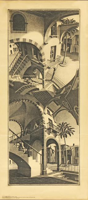 Maurits Cornelis Escher, 'Boven en Onder, HOLIDAY SALE $150 OFF THRU MAKE OFFER', 1970, David Lawrence Gallery
