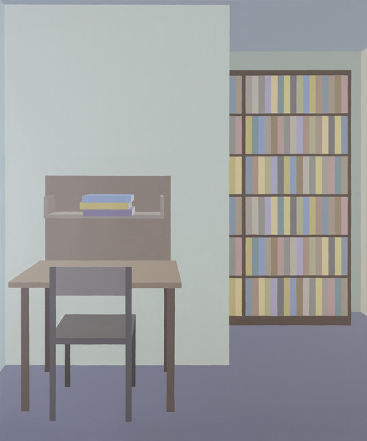 , 'Library #8,' 2018, Inda Gallery