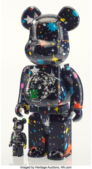BE@RBRICK X BBC, 'Starfield 400% and 100% (two works)', 2017, Heritage Auctions