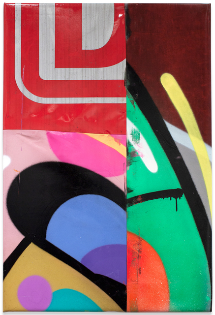 Moses & Taps™, 'FLICKWERKTM XIV', 2020, Painting, Spray Paint on PVC (freight wagon tarpaulin), KOLLY GALLERY