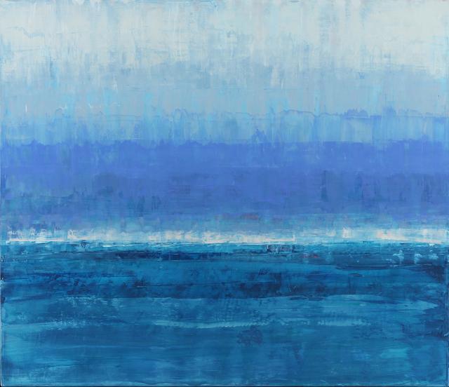 , 'Hyacinth & Aquamarine,' 2014, Sue Greenwood Fine Art