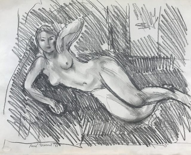 , 'Reclining Nude,' 1951, Nikola Rukaj Gallery
