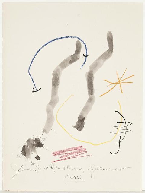 Joan Miró, 'Quelques Fleurs pour des Amis: Penrose. (#27)', 1964, Caviar20